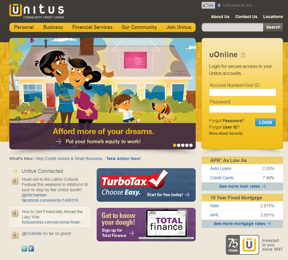 unitus-home-equity-illustration-site-screenshot