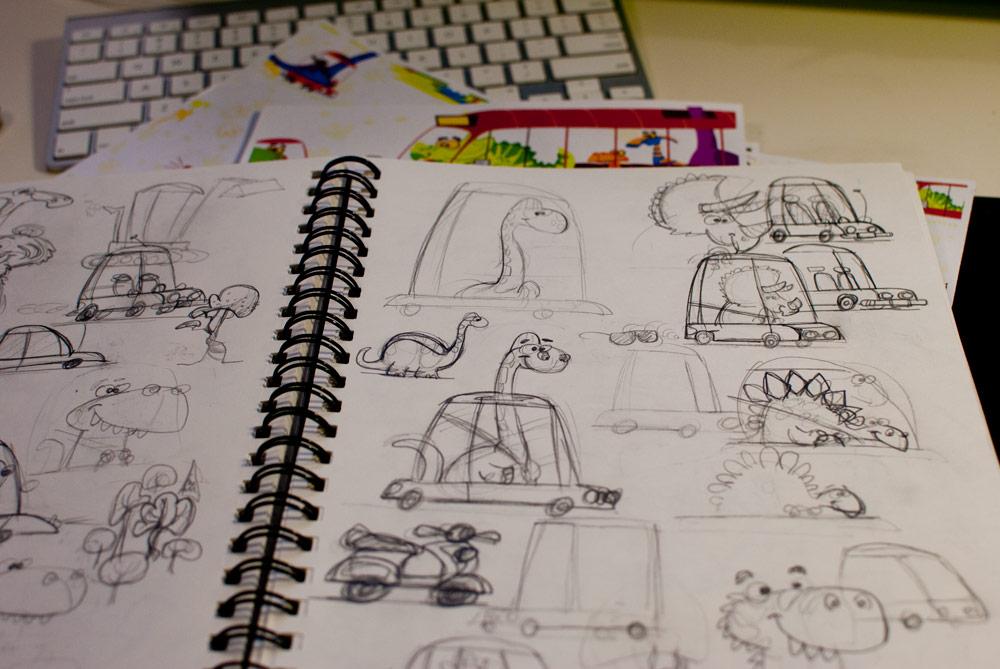 Josh Cleland Sketches