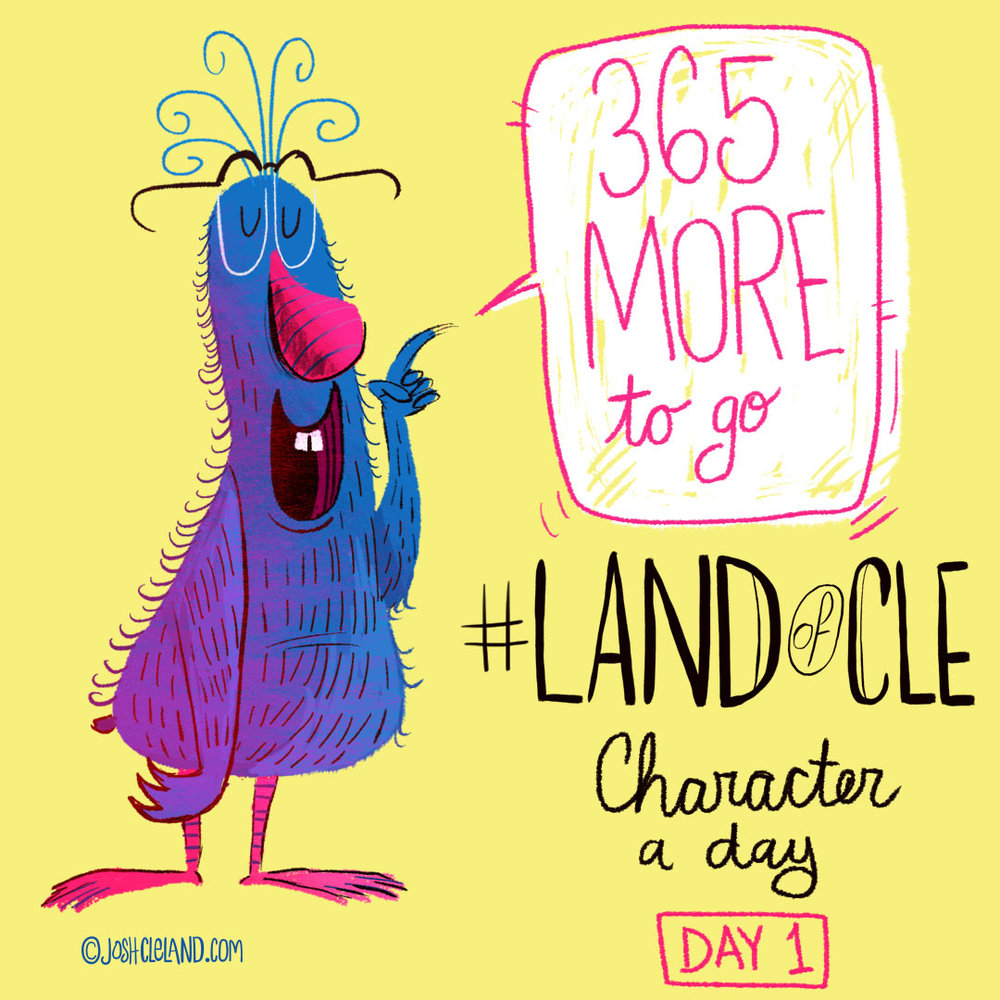 Land of Cle day 1 by Josh Cleland