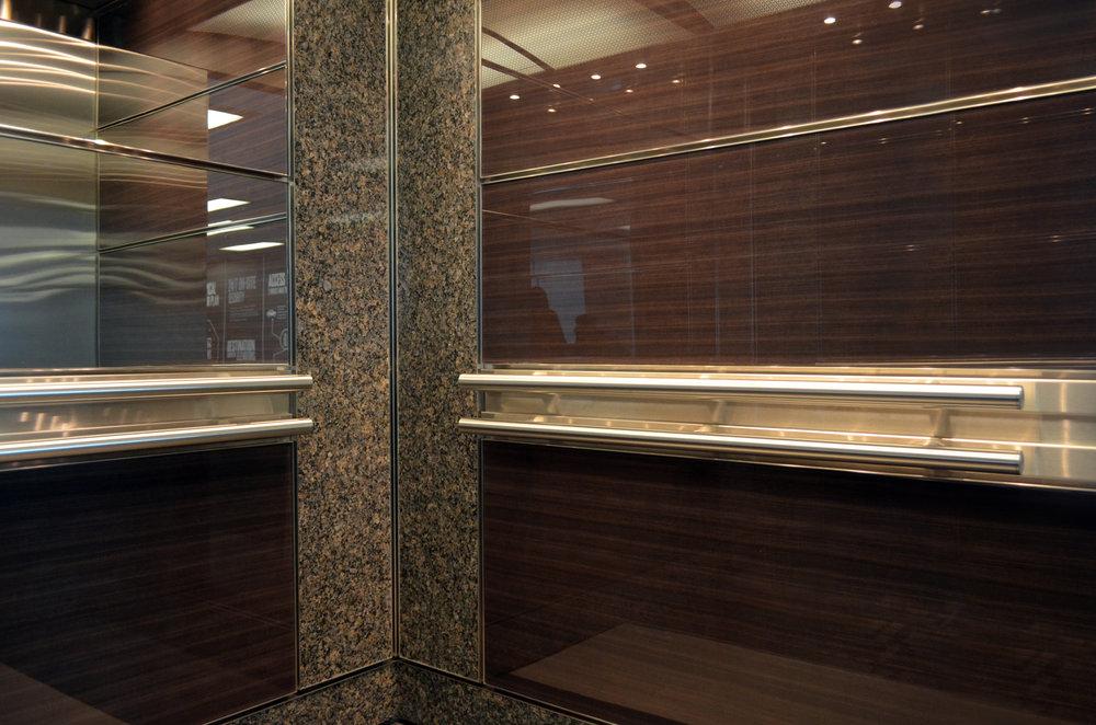 Wood Veneer Laminated Glass