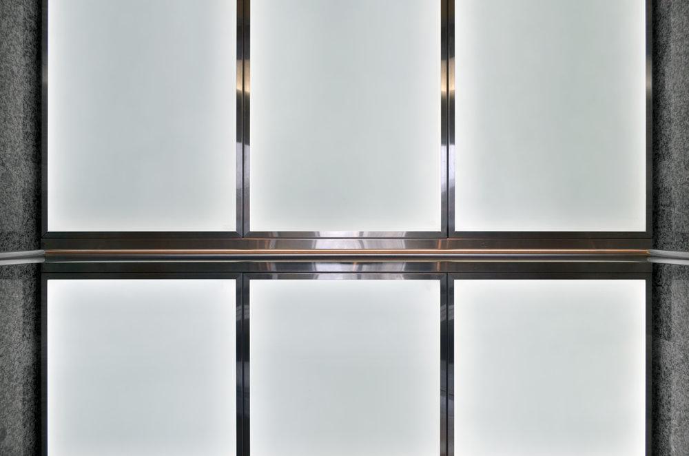Back-Lit Glass Panel