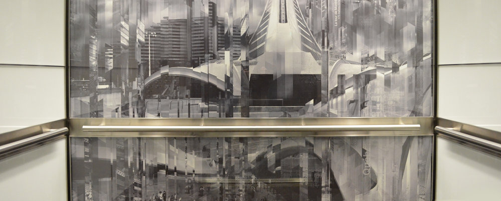 Custom Graphic Glass Panel