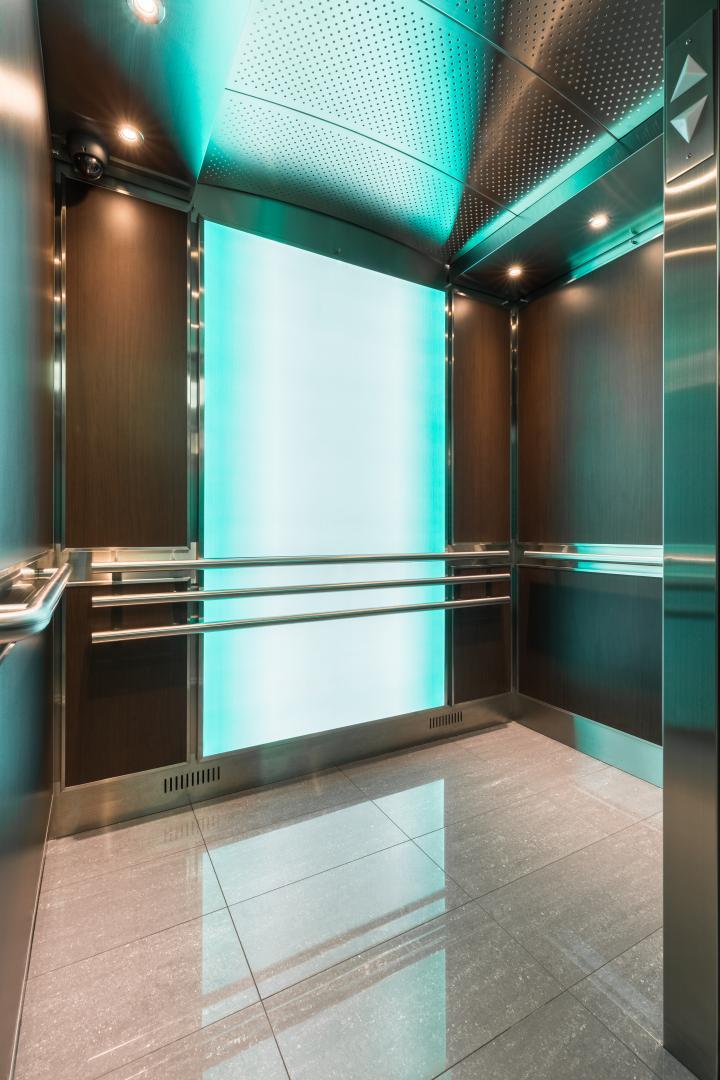 "Custom Elevator Light Panel   ""Illuminating the interior"""