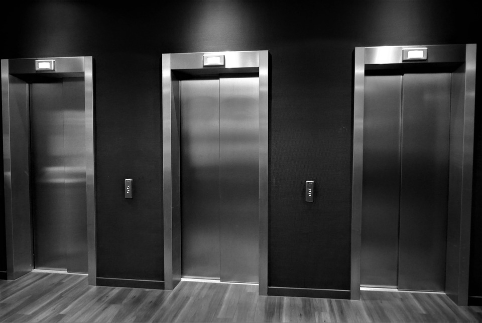 ELEVATOR DOOR SKINS - Renew the look of your lobby with new elevator door skins.