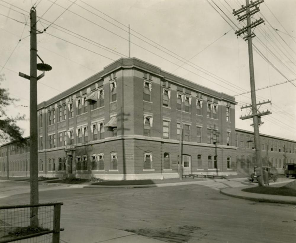 Otis Fensom Elevator Co. Foot of Victoria Street.