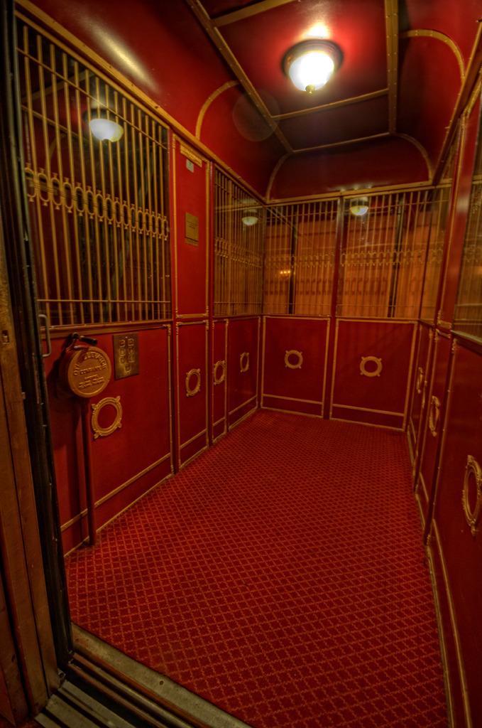 Elgin & Winter Garden Theatre Elevator