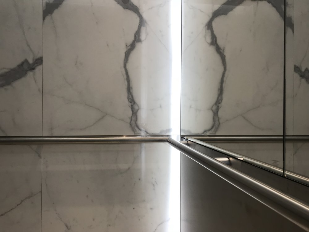 Lightweight Marble Elevator Wall Panels
