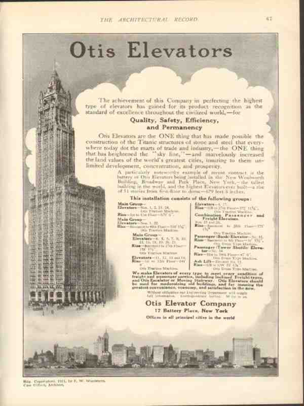 Otis Elevator Ad