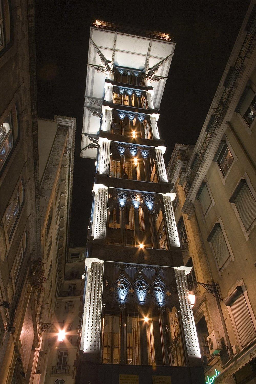 Santa Justa Lift Elevator