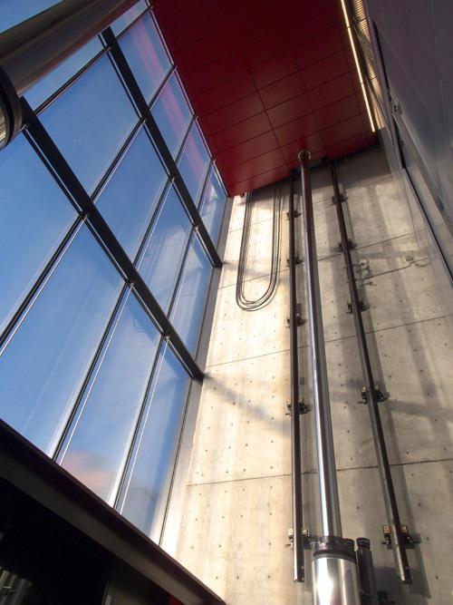 Sperone Westwater Gallery Elevator