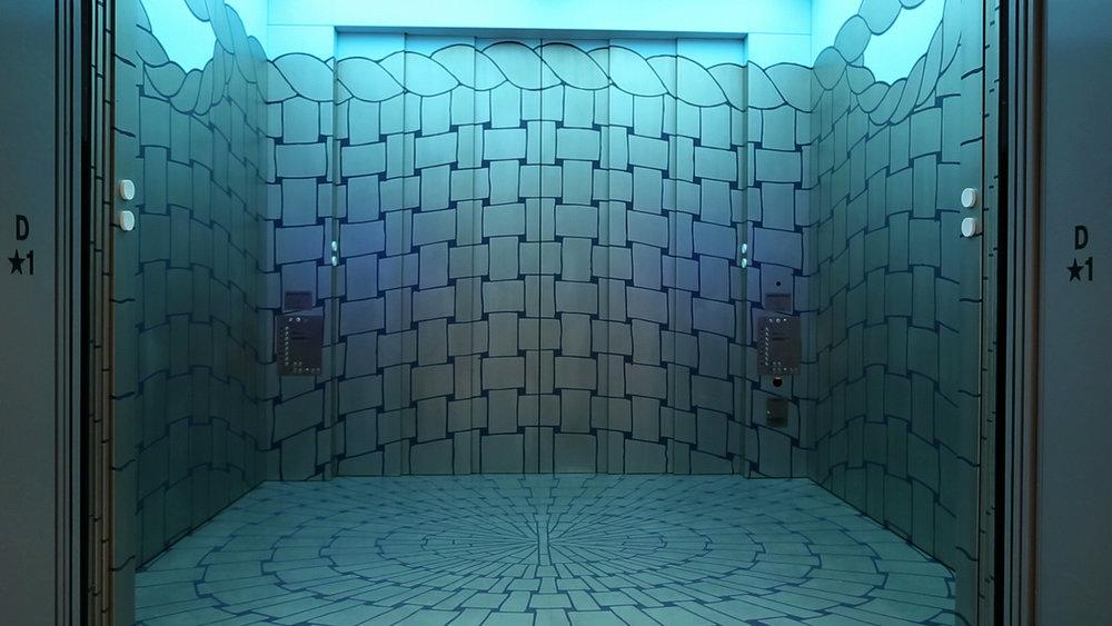 Artschwager Elevator Installation Whitney Museum