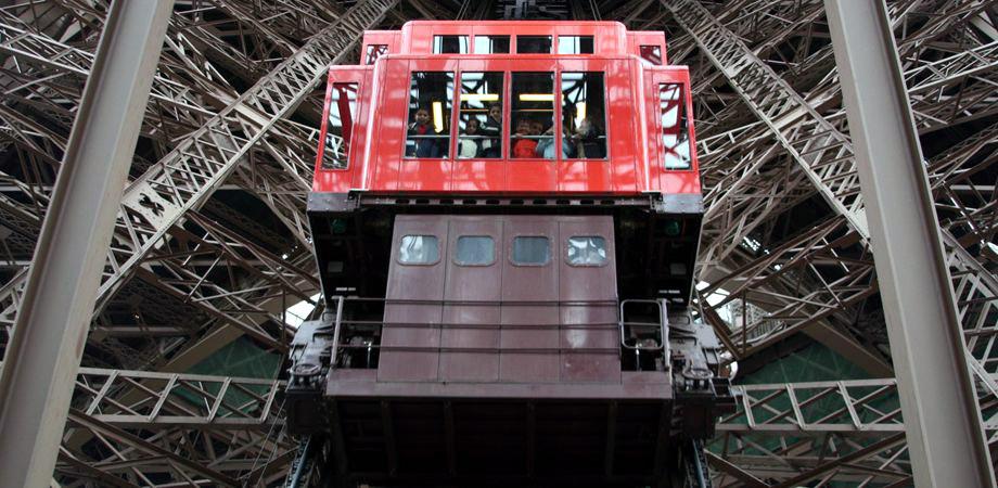 Eiffel Tower Elevator