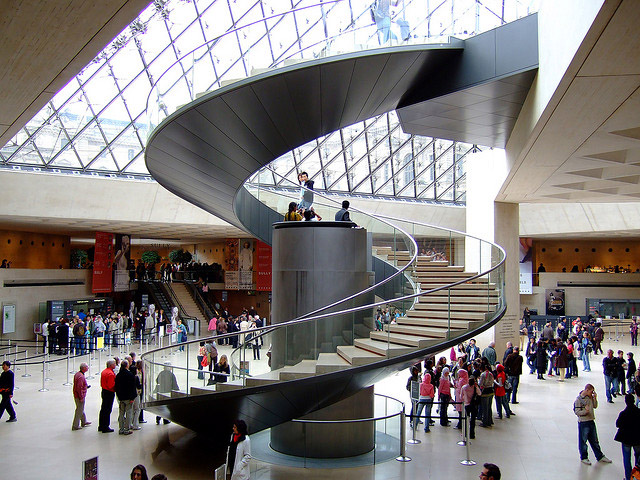 Louvre Elevator