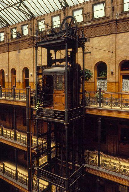 Bradbury Building Elevator