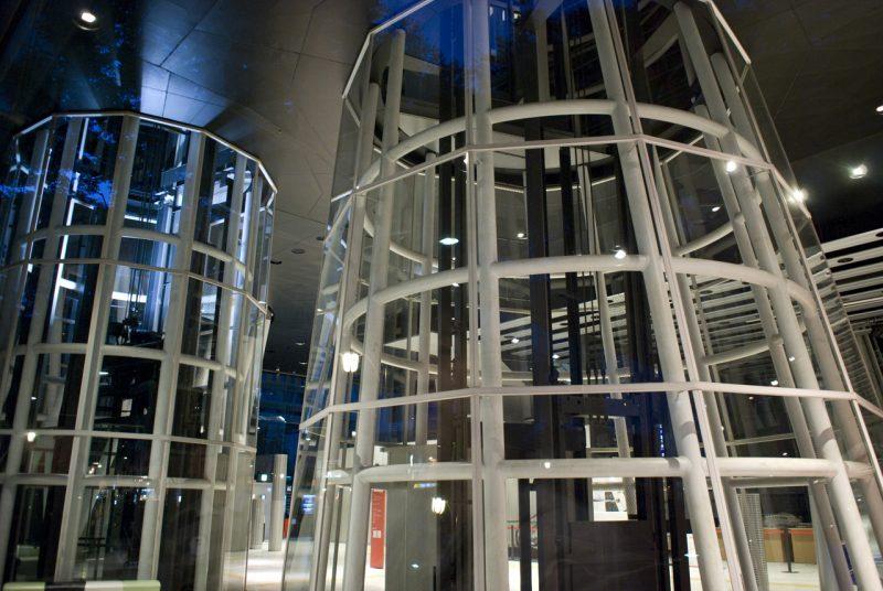Sendai Mediatheque Elevator