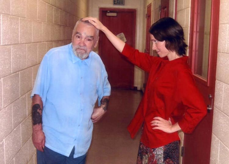 Charles Manson with Star Burton