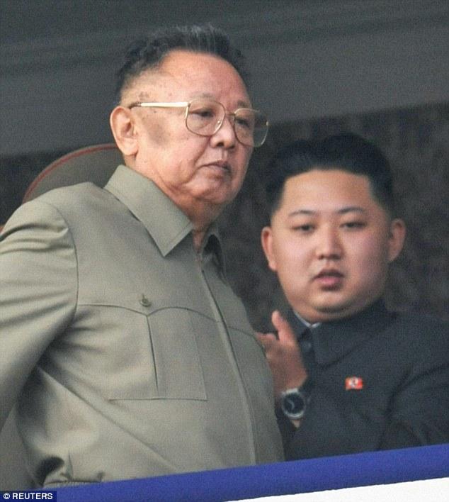 Kim Jong-Il and Kim Jong-Un