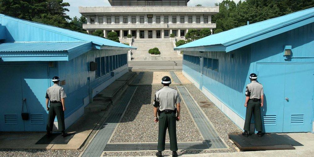 North Korean boarder