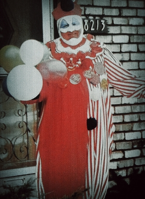 John Wayne Gacy Jr. as Pogo the Clown