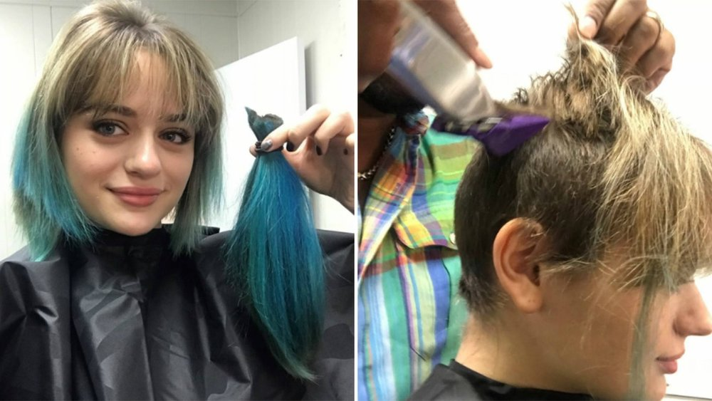 Joey King shaving her head for the role of Gypsy Rose