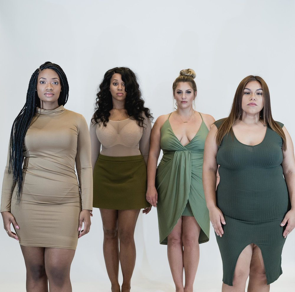 Left to Right: Gaybree Harris, Sydney Ealy, Jessica Rada, Stephanie Rosas