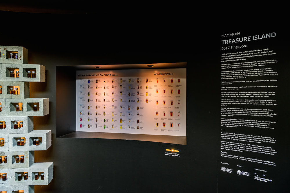 Treasure Island by Mamakan at National Museum of Singapore Installation View (Details)