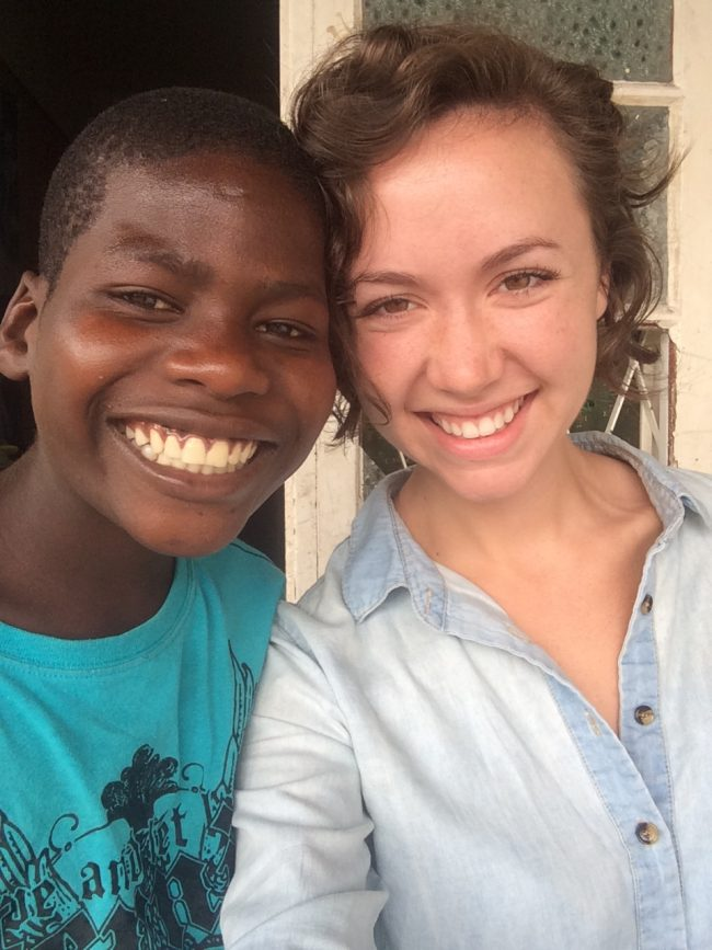 Picture of Me and Louis from my first trip to Mozambique in August, 2015