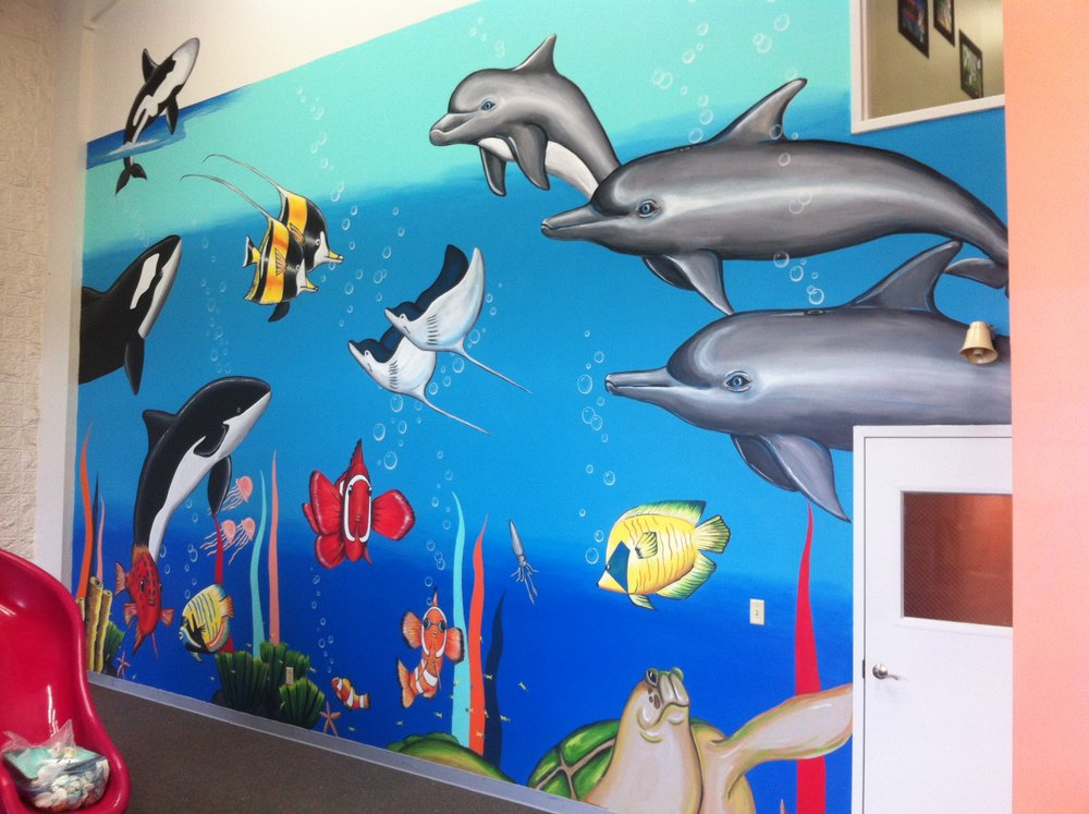 Greenbried Christian Academy indoor playroom, Noahs Arc part 2. Original design by Rita Ray.jpg