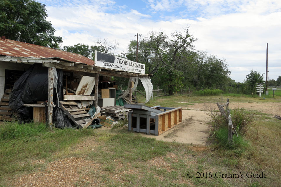 Texas Chain Saw Massacre Gas Station - September 2014