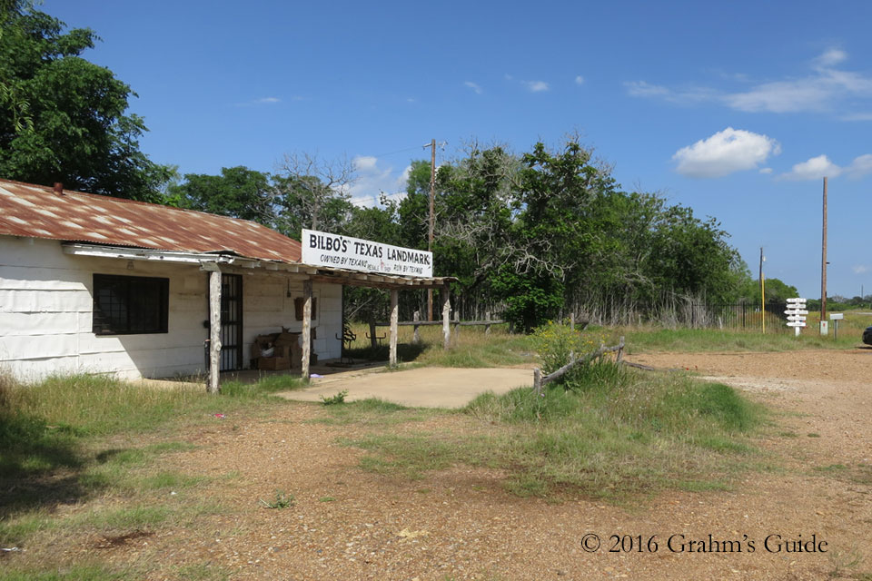 Texas Chain Saw Massacre Gas Station - May 2013