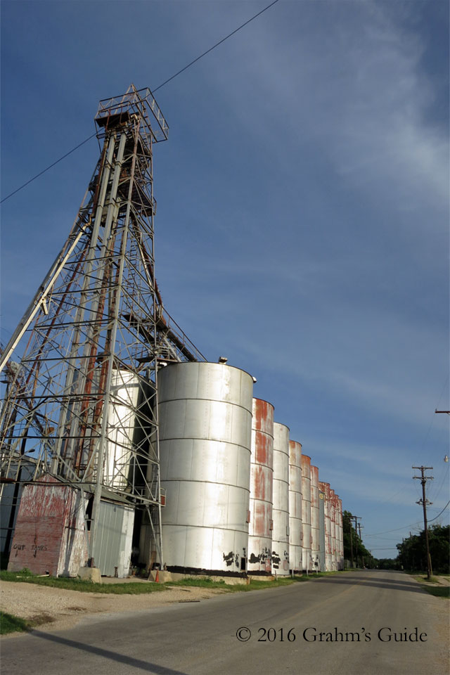 The silos from  Waiting for Guffman , as seen in June 2013