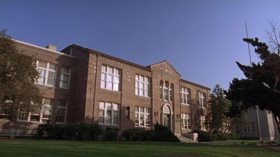 The local high school in  Waiting for Guffman  - © 1996 Castle Rock Entertainment