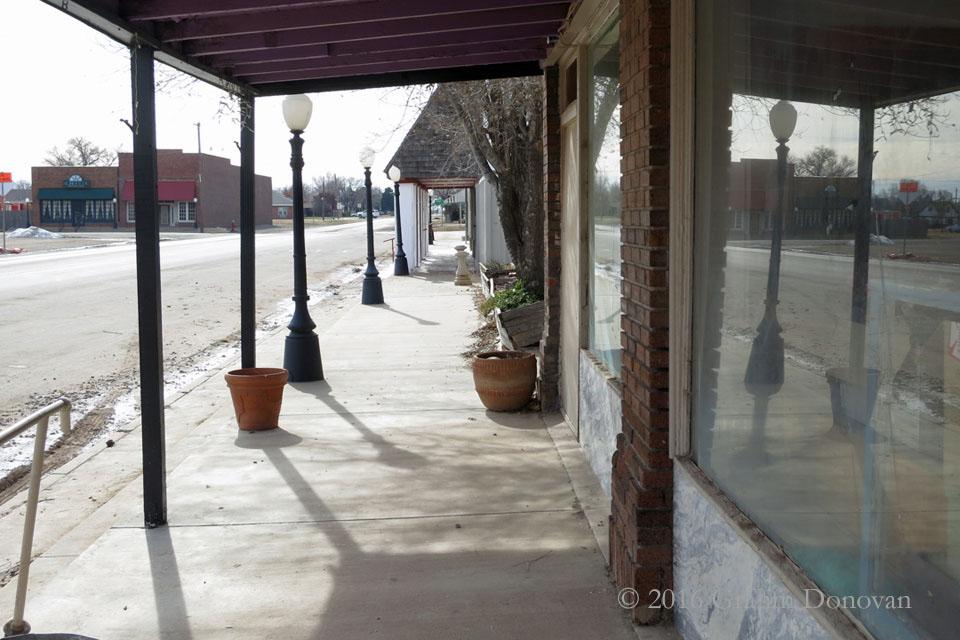 Sweeeping the Sidewalk
