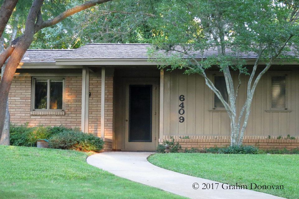 Carl's House Front Door