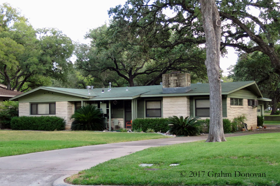 Mike's house from  Dazed and Confused , as seen in August 2015