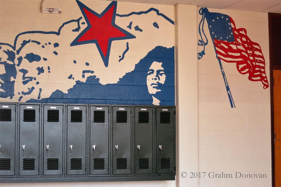 Lee High School mural