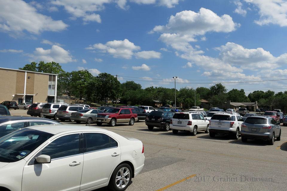 Lee High School Parking Lot