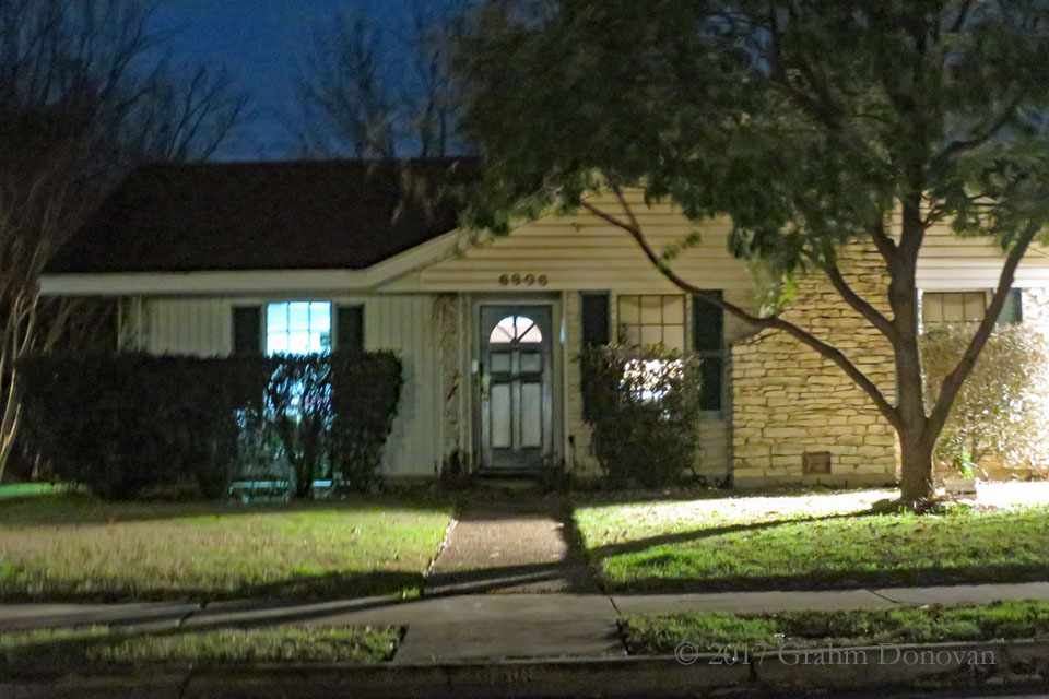 The Kramer house from Dazed and Confused, as seen in January 2017