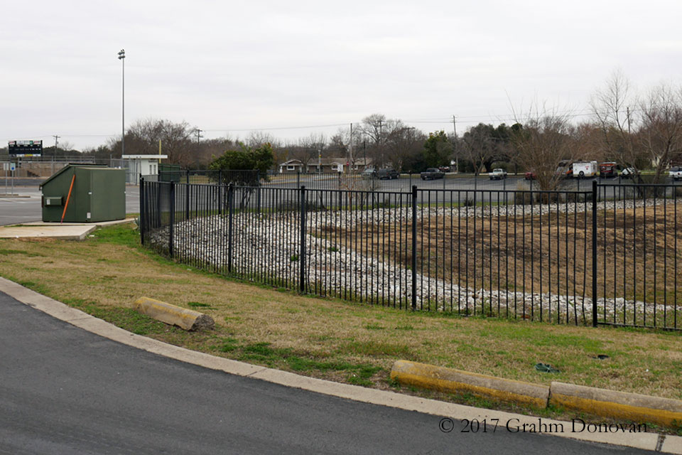 Football Field Parking Lot