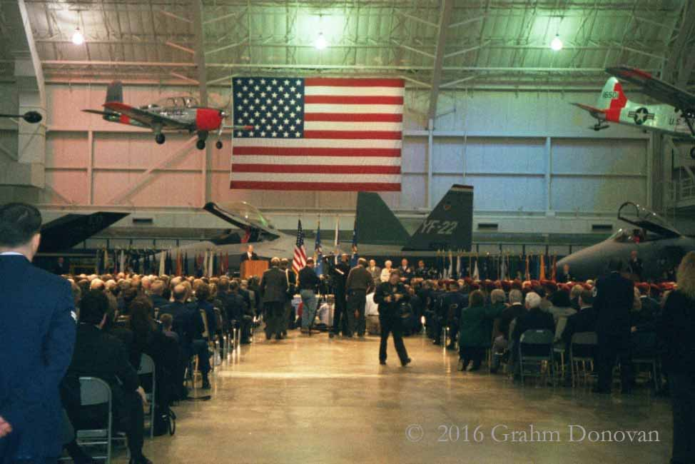 Pitsenbarger Medal of Honor Ceremony