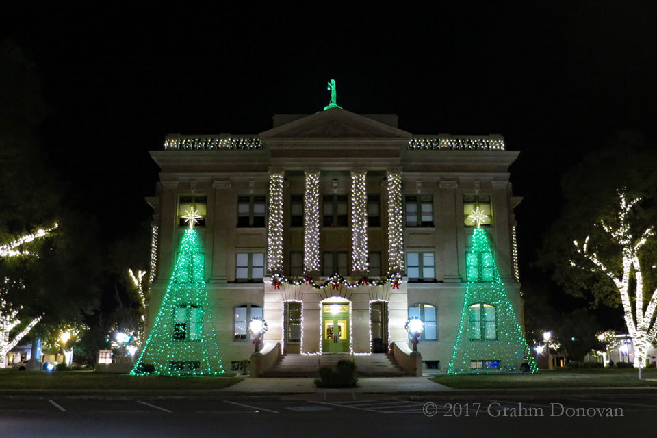 The Williamson County Courthouse on the Georgetown Square, as seen in November 2016