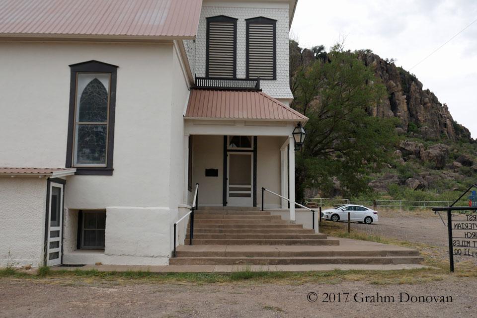 Dancer, Texas - Church Steps