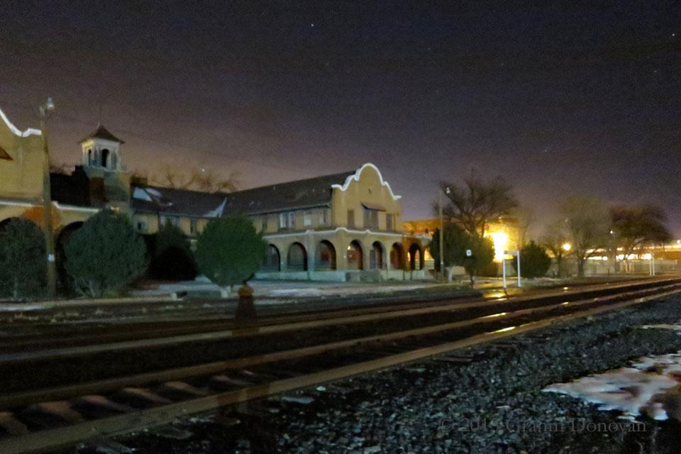 Communist HQ Rail Yard