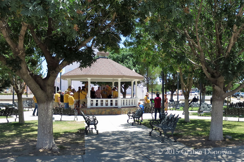 The Gazebo location from  Fandango , as seen in July 2015