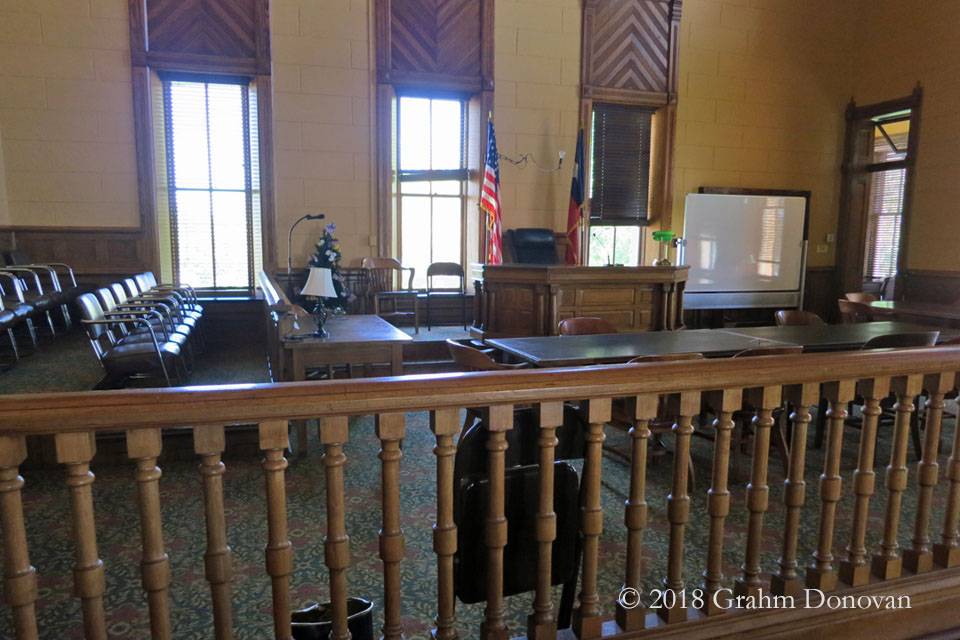 Courthouse - Courtroom