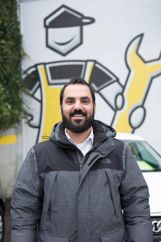 Fabio Carminitana, RHIAG Group Ltd, Kundenbetreuer Garagenkonzepte