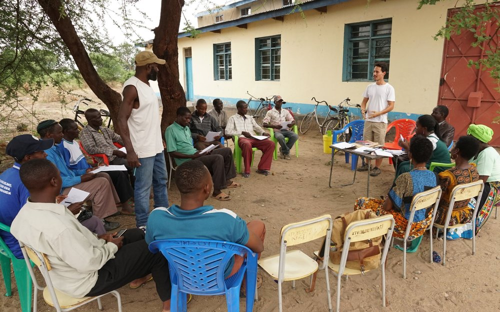 Village Council Meeting in Ikulwe Village, 9th November 2018