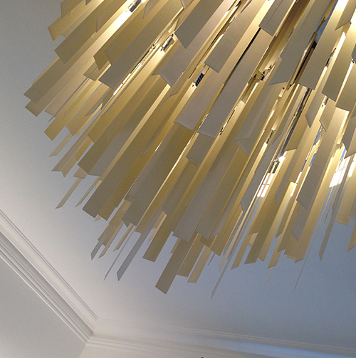 Porcelain forest light feature  Private client