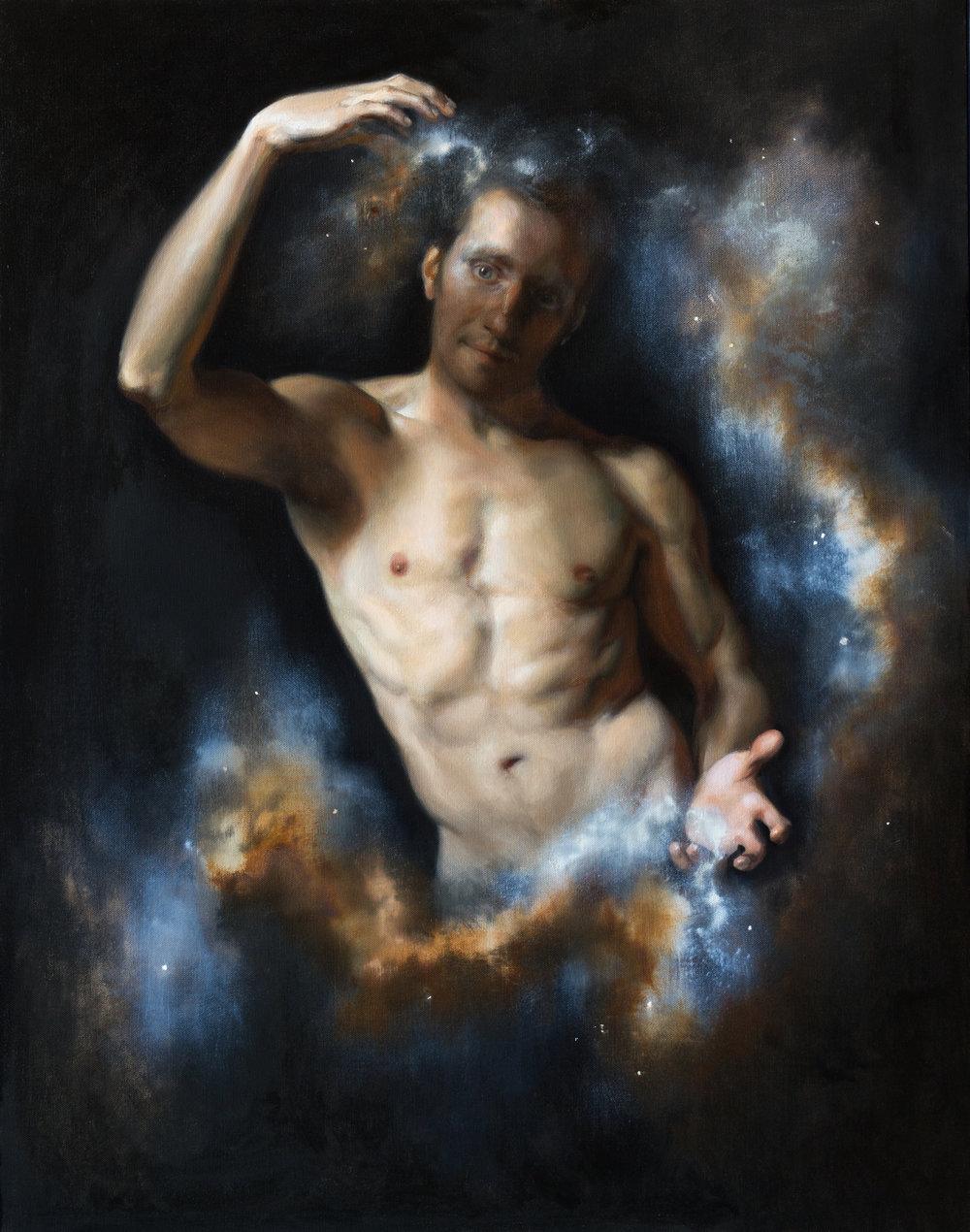 Eros,  oil on linen, 115x95, unframed, June 2014