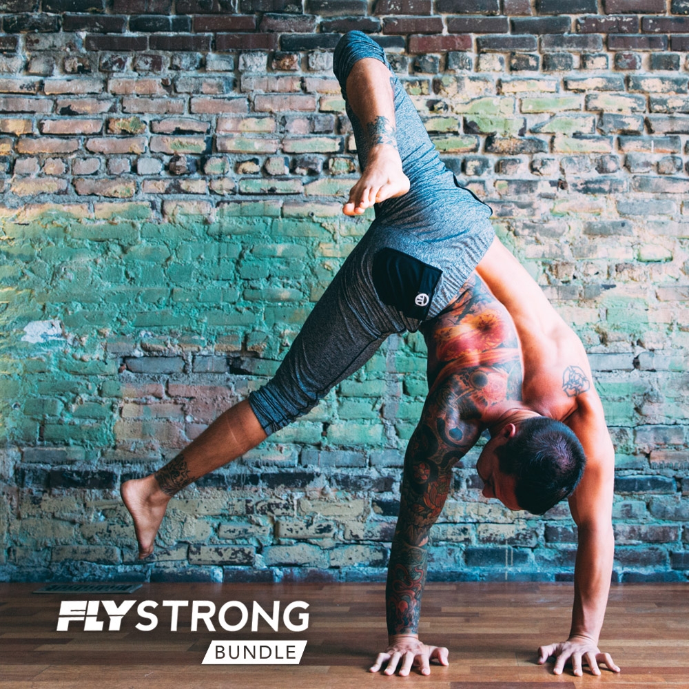 FlyStrong Bundle Develop the most successful handstand and arm balance practice imaginable. I created something that transforms you into a practitioner who can move through some of the most advanced transitions in the practice.